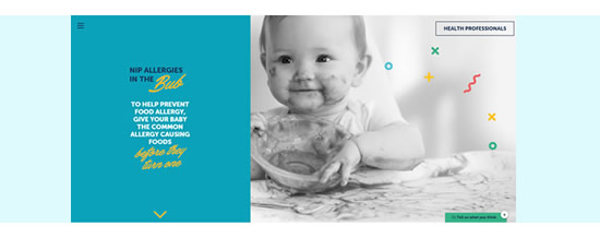 Food allergy prevention project (Nip allergies in the Bub)