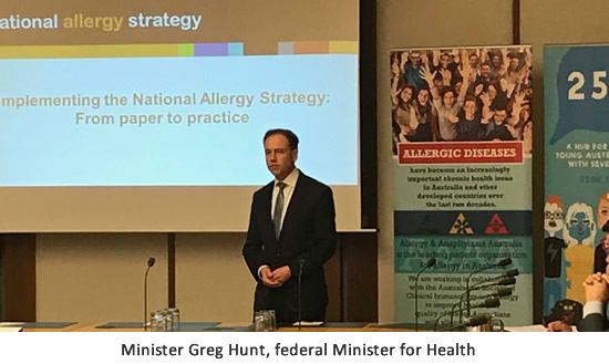 National Allergy Strategy Announcement Event